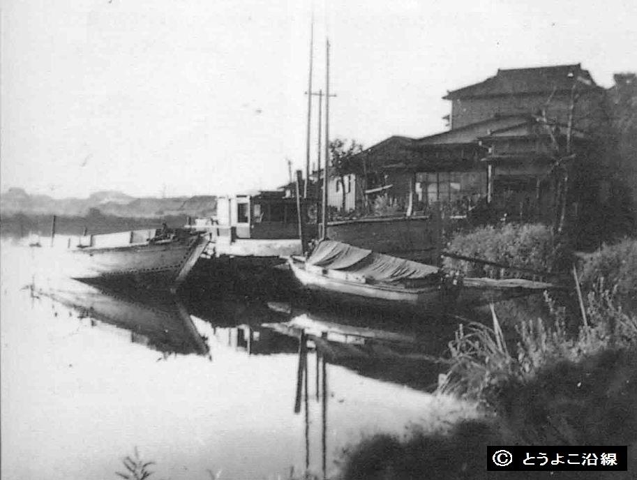 昭和期前半、潮田地区の情景
